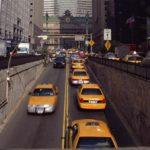 交通機関の決済 タクシー