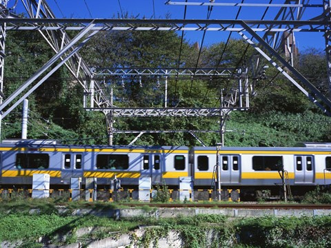 交通機関の決済 電車